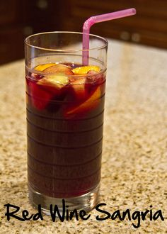 Red Wine Sangria by The Spohrs Are Multiplying..., via Flickr
