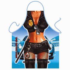 Delantal Mujer Policía Sexy | Delantales