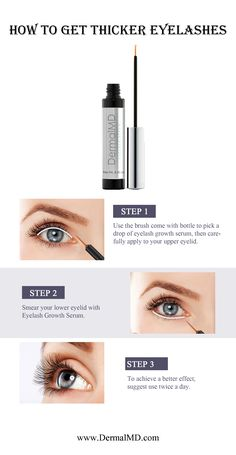 Dermalmd eyelash serum consists of the most vital natural ingredients, here we have shown how to apply it to get the most perfect results. It boosts hair growth and grows new hair follicles.