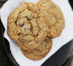 This one, if not the actual best chocolate chip cookie recipe ever, is definitely a very strong contender. And easy to make - no need to chill the dough, no call for unexpected ingredients. (Although the recipe does call for a stand mixer) Watch the baking time - did one batch for 15 minutes and they are way too crispy. (the other batch, on a different baking sheet, was fine at 15 mins)