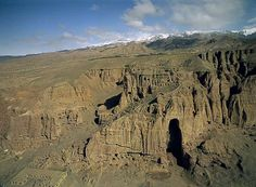 Buddhas of Bamiyan (UNESCO World Heritage Site), Afghanistan - The Bamiyan Valley represents the artistic and religious developments from the 1st to the 13th in ancient Bactria. The area contains numerous Buddhist monastic ensembles and sanctuaries, as well as fortified edifices from the Islamic period. The site is also testimony to the tragic destruction by the Taliban of the two standing Buddha statues in March 2001.