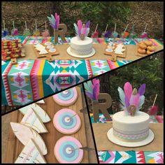 Aztec Party - Cake & cookies