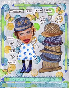 Journal Journey's July-: HATS Hope you can pop by and join in :)
