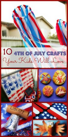 10 Kid Friendly 4th of July DIY Crafts Your Kids Will Love
