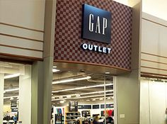Gap Outlet - Probably my favorite store