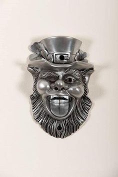 Winking Leprechaun Wall Mounted Bottle Opener - showcased at Glastonbury to a rousing reception!
