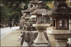 Stone lanterns | Flickr - Photo Sharing!