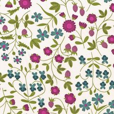 Liberty of London Fabric Mirabelle Purple by Alicecarolinesupply, $35.00