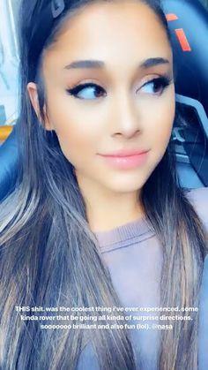 Ari via ig stories👑 Ariana Grande Selfie, Ariana Grande Images, Ariana Grande Cute, Ariana Grande Photoshoot, Ariana Grande Videos, Ariana Instagram, Ariana Video, Ariana Grande Sweetener, Ariana Grande Wallpaper