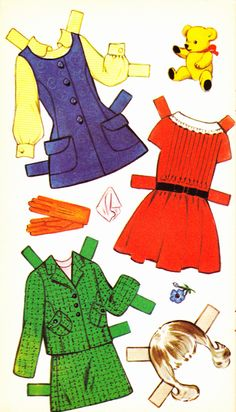Wendy Cut Out Doll Dressing Storybook (6 of 6), 1950s, Sandles