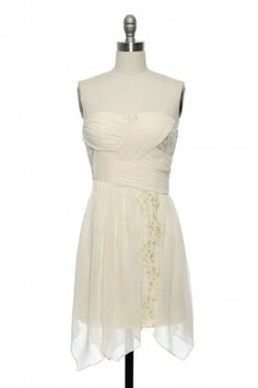The bridesmaid dress lil sis wants for her wedding - she found it on laceaffair.com - going to have to amp up the fitness pal to get looking good for this number!!