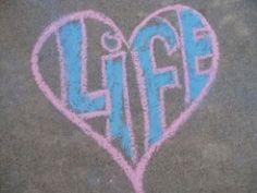 National Pro-Life Chalk Day