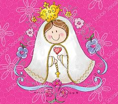 Female Images, My Images, Baptism Cookies, Holy Mary, Saint Nicholas, Blessed Virgin Mary, My Bible, Mother Mary, First Communion