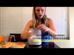 Homemade Laundry Detergent Only 3.5 Cents/Load