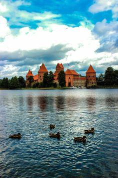 Trakai Island Castle, Lithuania by Tsvetelina Tsekova on 500px