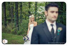 A playful bride shot by D Coleman Photography