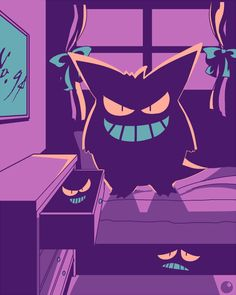 Gengar's still gotta be the most badass Pokemon Ghost Type Pokemon, Pokemon Fan Art, All Pokemon, Gengar Pokemon, Pikachu, Dibujos Percy Jackson, Poker, Pokemon Pictures, Digimon