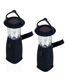 Look at this Solar Camping Lantern - Set of Two on #zulily today!