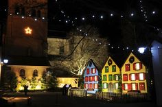 Turckheim, France - In accordance with Rhine traditions,a window of the calendar will be opened each evening. A ceremony with children and street-light lamplighters will open, for the audience greatest pleasure, an enlighted window reminding a character or an event of the Advent.