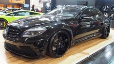 Mercedes CL Black Tuning at Essen Motorshow - Exterior Walkaround