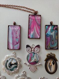 Fluid Art Keychain Resin Keychain Acrylic Art Pour Cabochon Handmade Acrylic Keychain Hand Painted Acrylic Pour Pendant