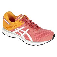 Asics- -Women's GEL-Invasion Athletic Shoe - Pink/Orange