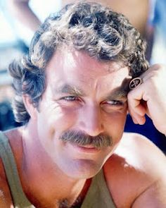Tom Selleck, the male ideal.