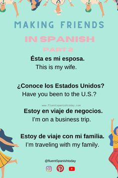 Learn fluent Spanish today - Learn fluent Spanish today - #spanishgrammar #aprendiendoespañol #languages #learnspanish #spanishlessons #spanishvocabulary #easyspanish #spanishforbeginners #spanishphrases #spanish #spanishforkids #learningspanish #spanishvocabulary #spanishphrases #spanishquotes #elsalvador #centralamerica #eltunco #elzonte #travelcentralamerica Friend 2, Spanish Vocabulary, Spanish Language, Photo And Video, Learning, Instagram, Business Travel, El Salvador, Studying
