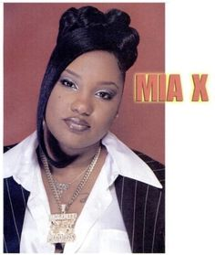 One of the best female rappers ever Mia X 2000s Hairstyles, Black Girls Hairstyles, Cute Hairstyles, Beauty Book, Hair Beauty, Black Hair 90s, Black Girl Aesthetic, 90s Aesthetic, Vintage Black Glamour