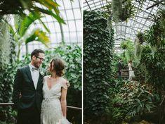 Heartfelt Chicago Greenhouse Wedding: Jessie + Chris