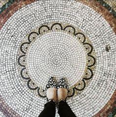 A very good #ihavethisthingwithfloors moment discovered on the @heyyml Insta-stream / #tiletuesday #mosaic #mosaics #fromwhereIstand #tilefloors #floor #floors #flooring #interior #interiors #interiordesign #interiordesigner #tiledesign #tiles #tile #tiled #tilework #tiling #idcdesigners #shoes #amazingfloorsandwanderingfeet #dsfloors #tileaddiction #tiler #tilelove by tiletuesday