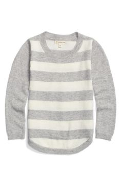 Main Image - Tucker + Tate Stripe Sweater (Toddler Girls, Little Girls & Big Girls)