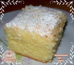 Érdekel a receptje? Gourmet Recipes, Sweet Recipes, Cookie Recipes, Slovakian Food, Pasta Cake, Hungarian Recipes, Baking And Pastry, Sweet Bread, Fun Desserts