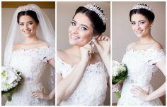 Casamento rústico-chique - Beleza da noiva