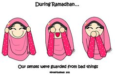 How Do We End Our Ramadhan (Animated) by littleMuslimah.deviantart.com on @deviantART