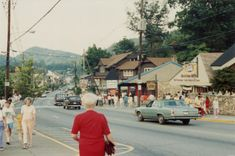 """Gatlinburg in """"the old days.... Unrecognizable now!  This is the way I remember it..... still wonderful to visit, but not the same."""