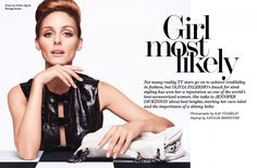 Olivia Palermo, shares it all in this feature for NET-A-PORTER.COM's The Edit.