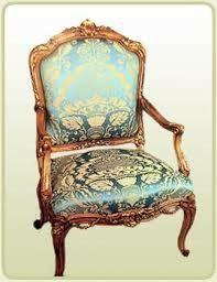 Luis debe reinar para siempre Deco Furniture, Luxury Furniture, Settee, Armchair, Luis Xvi, Mini Chair, Take A Seat, Shades Of Green, Side Chairs