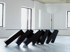 Tavolo da salotto MEGALITH Collezione Tavoli by Duffy London