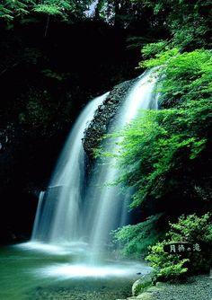 月待の滝 @茨城県久慈郡大子町