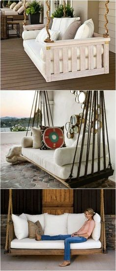 12 Easy Pallet Sofas and Coffee Tables to DIY in One Afternoon - lounge set design garten diy