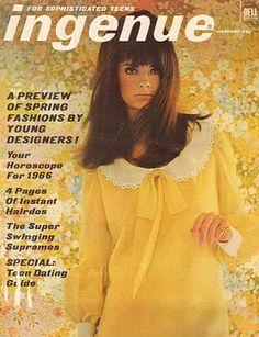 Ingenue Magazine of the 60s