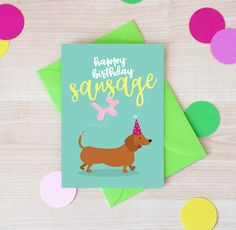 Sausage Dog Birthday