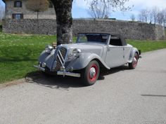 - Citroen - Traction Avant 15/6 Cabriolet 1950