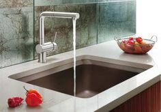 Kitchen Modern Sinks With Single Handle High Arc Pulldown End Faucets Ultra Faucet Designs Ideas