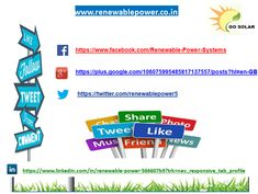 We are active on social media