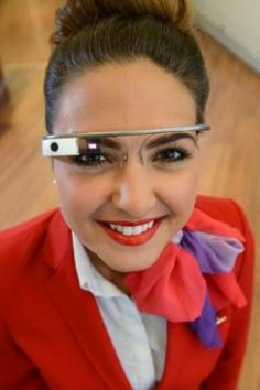 Virgin Atlantic use 'Google Glass' - BeachBlog