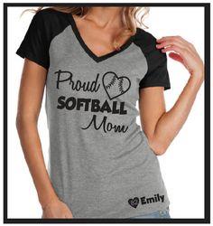 Hey, I found this really awesome Etsy listing at https://www.etsy.com/listing/250110929/custom-softball-mom-proud-softball-mom