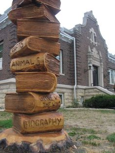 Books Carved From Trees