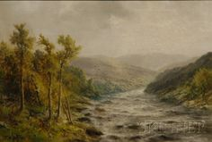 Thomas B. Griffin  (American, 1858-1918)      Delaware Water Gap